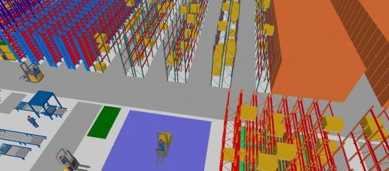 Warehouse Design | Industrial Racking | Commercial Shelving