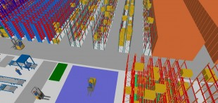 Industrial storage racking shelving toronto ottawa for Warehouse layout design software